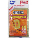 Hot Hands-2 Air Activated Disposable Hand Warmers (3 Pack)