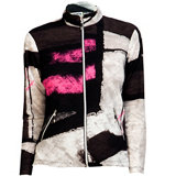 Women's Long Sleeve Full Zip Osaka Print Jacket