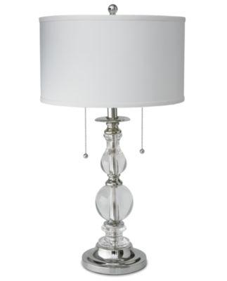 Royal Velvet® Optic Crystal Table Lamp