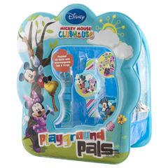 Disney Mickey Mouse Club Tin Watch Set