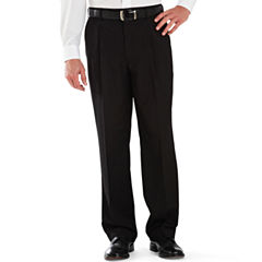 Stafford® Year-Round Pleated Pants–Big & Tall