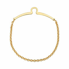 14 Kt. Gold Electroplate Tie Chain