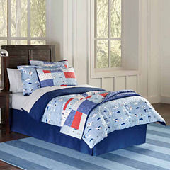 Lullaby Bedding Airplanes Duvet Cover Set