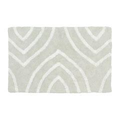 Homewear Linens Leaf Tips Bath Rug Collection
