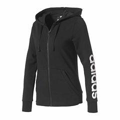 adidas® Graphic Long Sleeve Hoodie