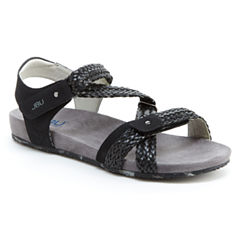 J Sport By Jambu Loreta Womens Wedge Sandals