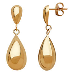 Limited Quantities! 10K Gold Drop Earrings