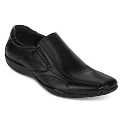 JF J.Ferrar Graphite Mens Slip-On Shoes