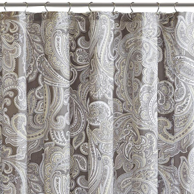 Madison Park Pure Racine Cotton Shower Curtain