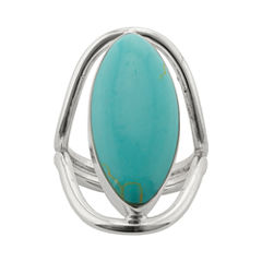 Sparkle Allure Simulated Turquoise Band
