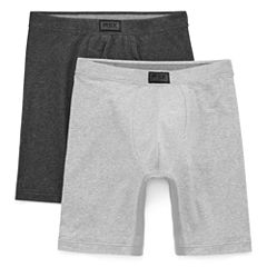 MSX by Michael Strahan 2-pk. Cotton Stretch Long Leg Boxer Briefs