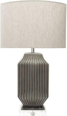 D??cor 140 Jadin 34.5x19x11.75 Indoor Table Lamp  Brown