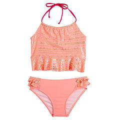 Limited Too Girls Tankini Set - Big Kid