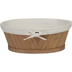 Creative Bath™ Eco Style Bamboo Vanity Basket