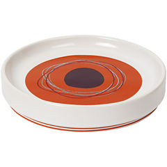 Creative Bath™ Dot Swirl Ceramic Soap Dish