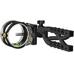 Trophy Ridge Cypher Bow Sight 5 Pin .019 Black