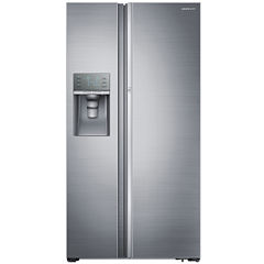 "Samsung ENERGY STAR® 29 cu. ft. 36"" Wide Side-by-Side Refrigerator with Food ShowCase Fridge Door"