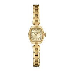 Bulova® Classic Womens Tonneau Gold-Tone Stainless Steel Bracelet Watch 97L155