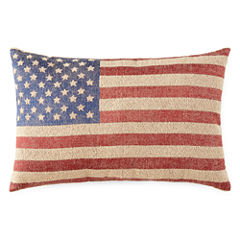 JCPenney Home™ American Flag Oblong Decorative Pillow