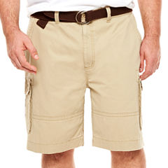 The Foundry Big & Tall Supply Co. Relaxed Fit Twill Cargo Shorts Big and Tall