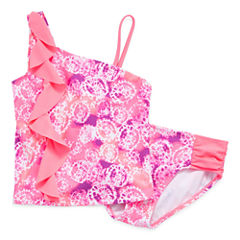 St. Tropez Girls Tankini Set - Big Kid
