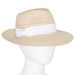 August Hat Co Panama Simple Bow Hat