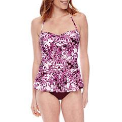 Liz Claiborne Pattern Bandeau Swimsuit Top
