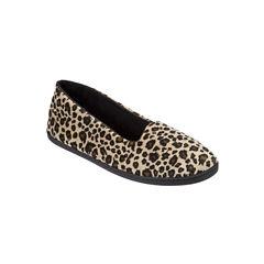 Dearfoams Velour Slip-On Slippers