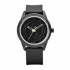 Smile Solar Unisex Black Strap Watch-Rp00j002y