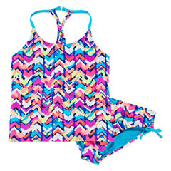 Angel Beach Girls Tankini Set - Big Kid
