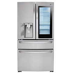 LG ENERGY STAR® 22.7 cu. ft. InstaView™ Door-in-Door® Counter-Depth Refrigerator