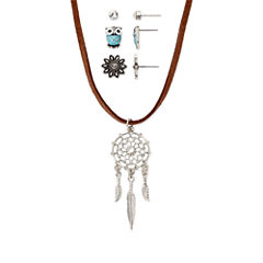 Decree® 4-pc. Dreamcatcher Necklace and Earrings Set