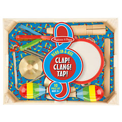 Melissa & Doug® Band-in-a-Box Clap! Clang! Tap!