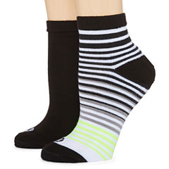 Xersion 2 Pair Quarter Socks - Womens