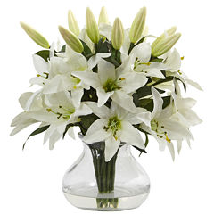 Lily Silk Floral Arrangement