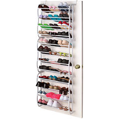 Sunbeam® Over-the-Door 36-Pair Shoe Rack