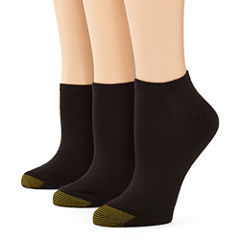 GoldToe® 3-pk. Ultra Soft No-Show Socks