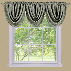 Sutton Waterfall Rod-Pocket Valance