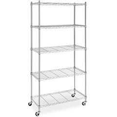 Whitmor Supreme 5-Tier Cart