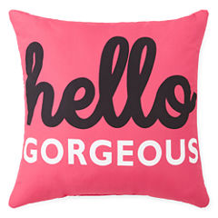 Home Expressions™ Hello Gorgeous Decorative Pillow