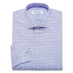 Collection by Michael Strahan  Long Sleeve Woven Plaid Dress Shirt
