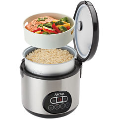 Aroma® 12-Cup Cool Touch Digital Rice Cooker & Steamer