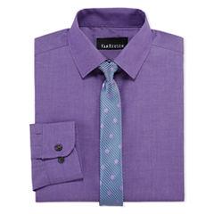 Van Heusen Shirt + Tie Set -8-20