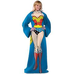 Wonder Woman Adult Comfy Throw