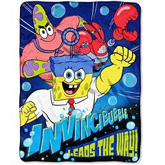 SpongeBob SquarePants Invincibubble Micro Raschel Throw