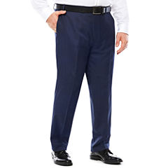 Collection by Michael Strahan Navy Tic Pants - Big & Tall
