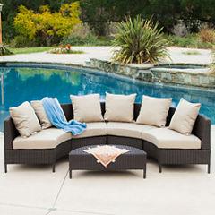 Port Limon 5-pc. Wicker Outdoor Lounge Set