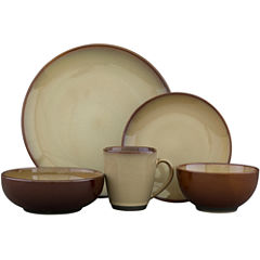 Sango Nova 40-pc. Reactive Glaze Dinnerware Set - Service for 8