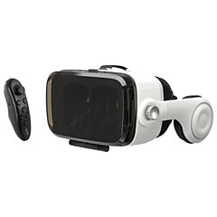 iLive IVR77BDL 3D Virtual Reality Headset with Built-In Headphones and Bluetooth Remote