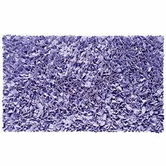 Rug Market Shaggy Raggy Rug- Lavender